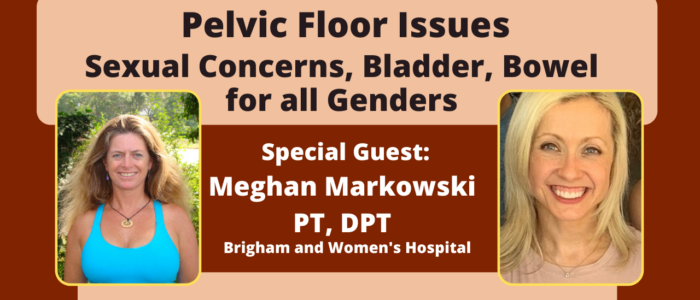 Pelvic Floor Issues Sexual Concerns Bladder and Bowel for all genders